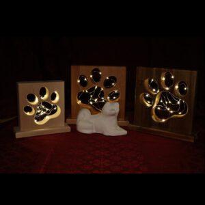 Holz Lampen